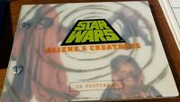 Star Wars Aliens & Creatures, 30 Postcards Book, 1996 NEW ALL CARDS HERE