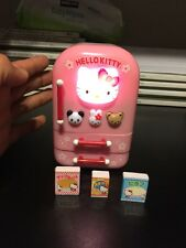 Vintage Hello Kitty Sanrio 2001 Electronic Musical Fridge Refrigerator Lights Up
