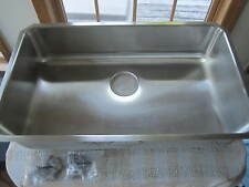 Elkay Elu2816 Lustertone Gourmet Undermount Single Basin/Bowl Kitchen Sink