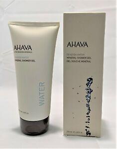 AHAVA Deadsea Water Mineral Shower Gel 6.8 oz/200ml Hypoallergenic Vegan