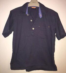 Boys Age 6-7 Years - Gap Short Sleeved Polo Shirt