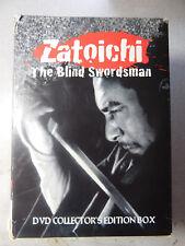 Zatoichi the blind Swordsman DVD Collector's Edition box