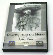 Jeffrey Watts: Drawing From The Model Drawing in Charcoal Art Instructional DVD
