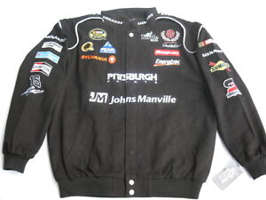 Paul Menard Menard's Cotton Twill NASCAR Jacket By Chase - Size: Adult LARGE