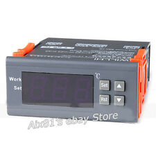 Digital Temperature Controller Thermostat WH7016C 220V LCD Display -50~110℃