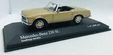 "Minichamps 1/43 Mercedes Benz  W113 ""Pagode"" 230 SL 1968 Beige 430032238"