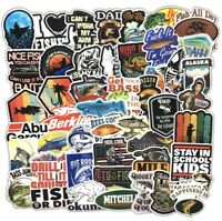 Fishing Stickers Pack Of 50 Pcs Bumper Stickers