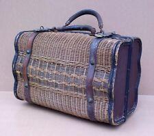 Ancien PANIER BRESSAN en osier ou rotin BOIS campagne rustique old wicker basket