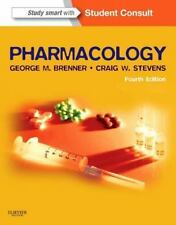 Pharmacology by George M Brenner and Craig W Stevens (2012) 4th Edition 4E - PDF