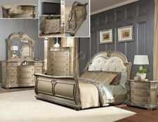 Solid Wood French Country Bedroom Furniture Sets