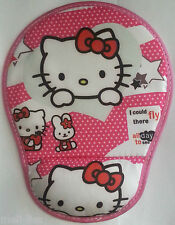 Cute Design Hello Kitty Laptop- Computer Mouse Pad with Wrist Rest