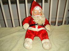 Vintage Santa Evil Stuffed Animal Plush Toy-Satanic Looking Santa Vintage Doll
