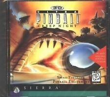 3-D ~ ULTRA PINBALL ~ CREEP NIGHT ~ CD-ROM ~ AGES 6+