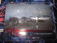 HARRY POTTER PROMO CARD N° 05 PRISONER AZKABAN NOT UPDATE POA RED LINE VHTF MINT
