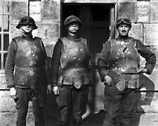 New 8x10 World War I Photo: Body Armor Test at Fort de la Peigney, Langres
