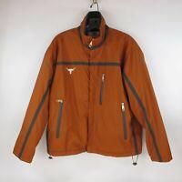 Texas Longhorns Full Zip Lined Windbreaker - Co-op Jacket - Men's Sz Small