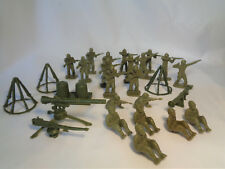 Vintage 1950s Marx US Army Training Center Playset Army Troops Accessories Toys