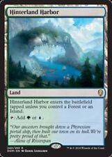 Hinterland Harbor x1 Magic the Gathering 1x Dominaria mtg card rare land