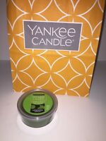 YANKEE CANDLE Scenterpiece Easy Meltcup FORBIDDEN APPLE Green NEW TAGS Fresh