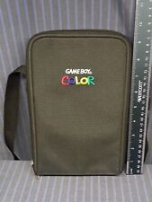 VERY NICE Nintendo Gameboy Color Carrying Travel Case Shoulder Bag with Insert