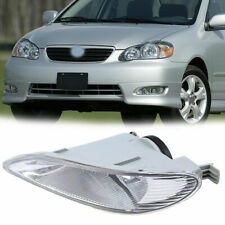 Clear Front Fog Bumper Lights Driver Side Fit Toyota Camry 02-04 Corolla 2005-08