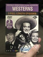 Westerns, Vol. 3 (DVD, 2004) OLD CLASSIC