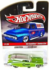 HOT WHEELS 2010 SLICK RIDES DELIVERY Rower Cams '59 Cadillac Funny Car