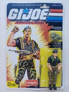 G. I. JOE Flint MOC FUNSKOOL International Heroes Russian Figure