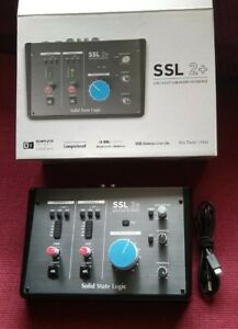 Solid State Logic SSL 2+ 2-in/4-out Usb Audio Interface