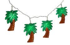 """Tropical Summer LED Lichterkette 10 Led  """" Palmen """" warmweiss batteriebetrieben"""