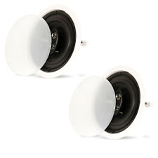 "Theater Solutions Cs83C In Ceiling 3-Way 8"" Speakers Home Theater Surround Pair"