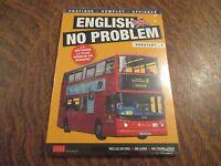 dvd english no problem debutant 6 inclus dvd + un livre + un cours audio