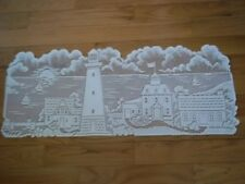 LACE TABLE RUNNER IVORY LIGHTHOUSE DESIGN LTCTR25