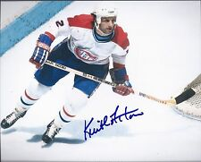 Montreal Canadiens KEITH ACTON Signed 8x10 Photo