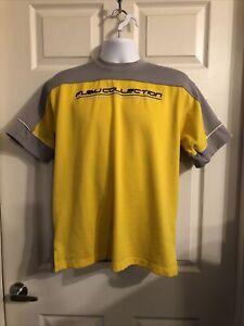 Fubu Jersey Size L | Fubu Sport Series Collection Yellow & Gray V-29