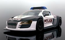 Scalextric C3932 Audi R8 Police Car, mint unused boxed