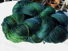 Fleece Artist 2ply Twist Knitting Yarn Wool/Mohair/Nylon/Acrylic/Silk, 200g/300m