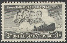 USA 1948 Ships/Nautical/Transport/Chaplains/Shipwrecks/Boats/People 1v (n29220)