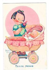 BEATRICE MALLET Petite maman fillette poupée