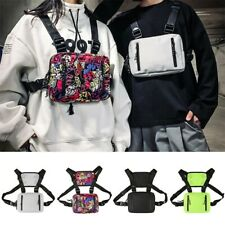 Fashion Tactical Chest Rig Bag Nylon Pouch Outdoor Sport Leisure Hiking Pouch