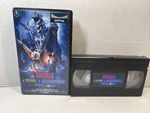 Godzilla X Mechagodzilla X Mothra Tokyo SOS Widescreen Edition English Subtitles