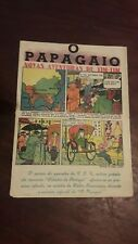 Tintin First colour appearence 1938 portuguese publication O Papagaio very rare