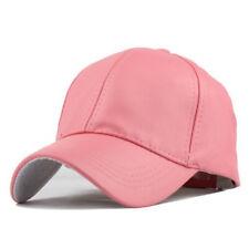 Baseball Cap Adjustable Classic Casual Snapback Summer Sun Mens Ladies Kids Hat
