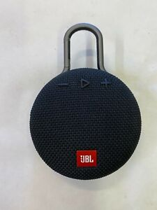 JBL Clip 3 Black Speaker Portable Wireless Bluetooth Rechargeable