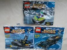 NEW LEGO BATMAN BUNDLE 30160 BATMAN JETSKI 30161 BATMOBILE 30303 JOKER BUMPER CA