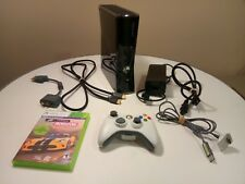 Microsoft Xbox 360 Slim Black Console 250GB + Game, Play & Charge Kit
