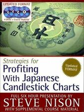 Book+4 DVD STRATEGIES FOR PROFITING WITH JAPANESE CANDLESTICK CHARTS Steve Nison