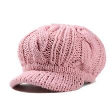 NEW Women Winter Warm Knit Crochet Slouch Baggy Beanie Hat Crochet Ski Cap Beret