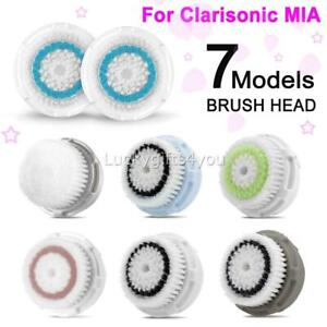 3X Clarisonic Cleanser Series Replaced Brush Head for Mia, Mia 2 -All Skin Types