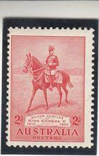 AUSTRALIA 1935. King George V. 2p. Red. Scott 152. MNH
